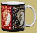Cosmic Gecko Ceramic Mug - Back