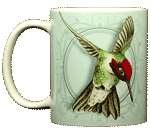 Anna's Hummingbird Ceramic Mug