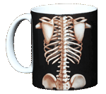 Skeleton Ceramic Mug