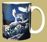 Western Nightlife Ceramic Mug