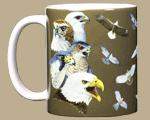 Soaring Raptors Ceramic Mug