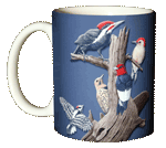 Woodpeckers Ceramic Mug