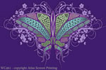 "Celtic Butterfly 2"" X 3"" Magnet"