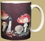 Mushrooms Ceramic Mug - Back