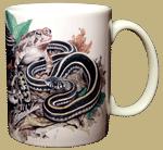 Backyard Herps Ceramic Mug - Back