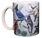 Western Songbirds Ceramic Mug