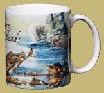 Southern Wetlands Ceramic Mug - Back