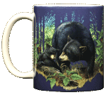 Bear Mom Ceramic Mug - Front