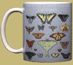 Lepidoptera Ceramic Mug