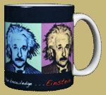 Imagine Einstein Ceramic Mug - Back