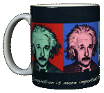 Imagine Einstein Ceramic Mug