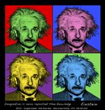 Imagine Einstein Adult T-shirt