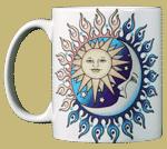 Sun Power Moon Glow Ceramic Mug