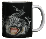 Gator Encounter Ceramic Mug - Back