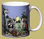 Backyard Buddies Ceramic Mug - Back