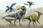 "Dinosaur Rumble 2"" X 3"" Magnet"