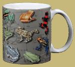 Frogs of the Americas Ceramic Mug - Back