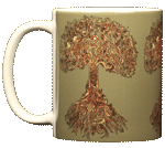 Tree of Life Ceramic Mug