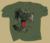 Rex Rush Adult T-shirt