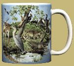 Southern Nature Ceramic Mug - Back