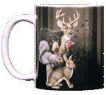 Wildlife Trax Ceramic Mug