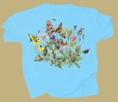 Roadside Flowers Adult T-shirt