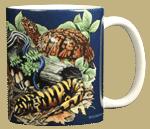 Reptiles & Amphibians Ceramic Mug - Back
