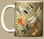 Dragonfly Squadron Ceramic Mug