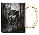Spirit of the Wolf Ceramic Mug