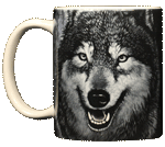 Spirit of the Wolf Ceramic Mug