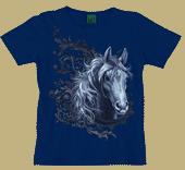 Equestrian Lace Ladies Scoop Neck Tee
