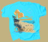 Beach Life Adult Comfort Colors T-shirt
