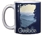 Mountain Life Ceramic Mug
