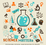 Science Matters Adult T-shirt