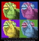 Imagine T-Rex Adult T-shirt