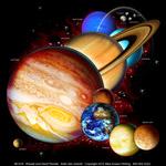 Planets & Dwarf Planets Adult T-shirt
