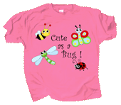 Cute As A Bug Youth T-shirt