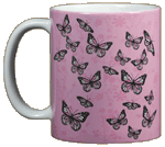Good & Plenty Butterflies Ceramic Mug