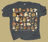 Ultimate Mushroom Guide Adult T-shirt