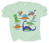 Dino Playland Youth T-shirt