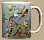 Yard Birds Ceramic Mug - Back