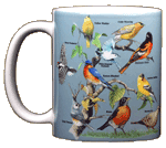 Yard Birds Ceramic Mug