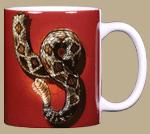 Rattler Heads & Tails Ceramic Mug - Back