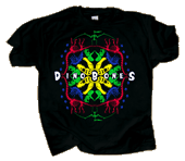 Dino Bones Mandala Youth T-shirt