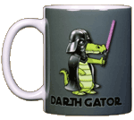 Darth Gator Ceramic Mug