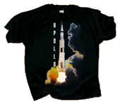 Launch of the Apollo Adult T-shirt