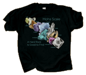 Mohs' Scale Adult T-shirt