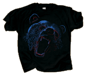 Extreme Black Bear Youth T-shirt