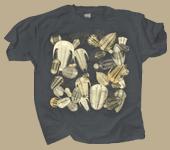 Trilobite Fossils Adult T-shirt