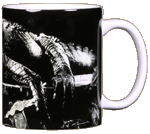 Dockside Gator Ceramic Mug - Back